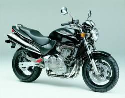 Honda 600F 2001 black full decals kit
