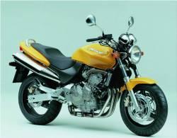 Honda 600F 1999 Hornet yellow logo graphics