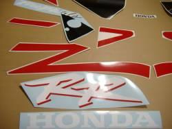 Honda 954RR 2003 Fireblade red stickers set