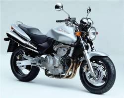 Honda 600F 1998 Hornet silver decals set