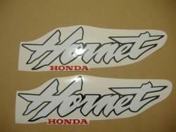 Honda 600F 1998 Hornet silver stickers set