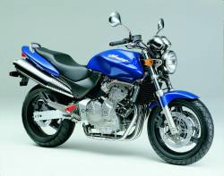 Honda cb 600f 2001 Hornet blue graphics kit