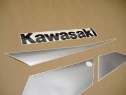 Kawasaki ZX 9R 2002 blue stickers kit
