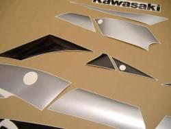 Kawasaki ZX-9R 2002 blue adhesives set