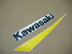 Kawasaki ZX-9R 2002 silver stickers set