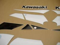 Kawasaki ZX 9R 2002 green full decals kit
