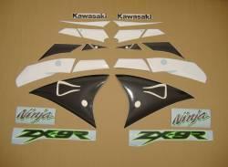 Kawasaki ZX9R 2002 Ninja gold decals kit