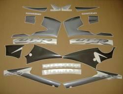 Honda CBR 600 F4 2001 black decals kit