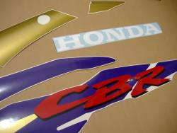 Honda CBR 600 F3 1996 red labels graphics