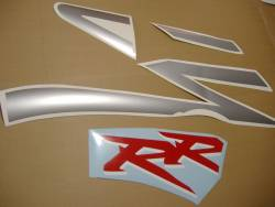 Honda 954RR 2002 Fireblade silver full decals kit