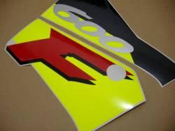 Honda CBR 600 F3 1996 white stickers kit