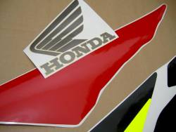 Honda CBR 600F F3 1996 white stickers