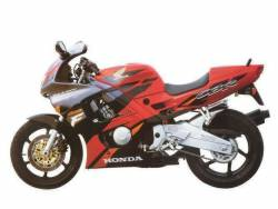 Honda CBR 600F F3 1995 red decal set