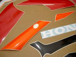Honda CBR 600F F3 1995 red decals