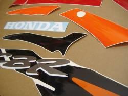 Honda 600 F3 1995 red complete sticker kit