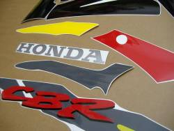 Honda CBR 600 F3 1995 grey decals kit