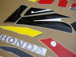 Honda CBR 600F F3 1995 gray stickers