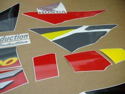 Honda 600 F3 1995 grey stickers set