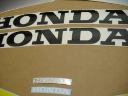 Honda 600 F4 2001 yellow stickers set