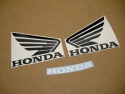 Honda 600 F4 2001 yellow full decals kit