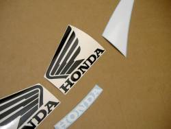 Honda 600F F4 2001 red reproduction decals