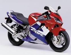 Honda cbr 600 F4 2001 red restoration decals