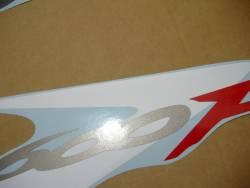 Honda CBR 600 F4 2002 red stickers kit
