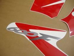 Honda CBR 600 F4 2003 silver stickers kit