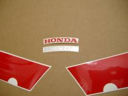 Honda 600 F4 2003 silver complete sticker kit