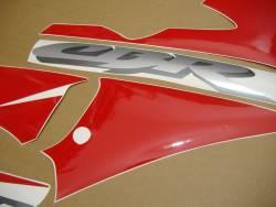 Honda 600 F4 2003 silver full decals kit