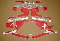 Honda CBR 600F F4 2003 silver adhesives set