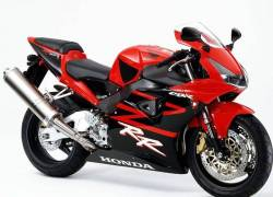 Honda 954RR 2002 Fireblade red full decals kit
