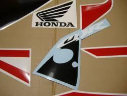 Honda 954RR 2002 Fireblade red labels graphics