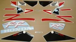 Honda 954RR 2002 Fireblade red reproduction decals