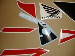 Honda 954RR 2002 Fireblade SC50 red decal set
