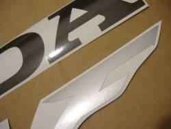 Honda 600 F4 2005 titanium silver stickers set