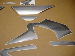 Honda 600 f4 2005 titanium silver decals set