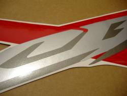 Honda 600 F4 2006 red full decals kit