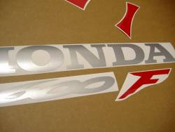 Honda CBR 600F F4 2006 red decals
