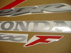 Honda CBR 600F F4 2006 red stickers