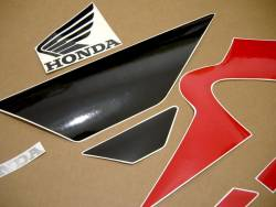 Honda 600 F4 2006 red complete sticker kit