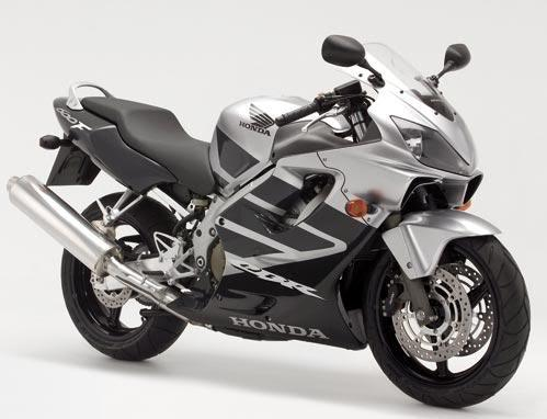 Honda CBR 600 F4 2006 decals set full kit - silver/black version - Moto-Sticker.com