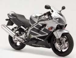 Honda CBR 600 F4 2006 silver restoration decals