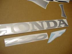 Honda cbr 600 f4 2006 silver graphics set