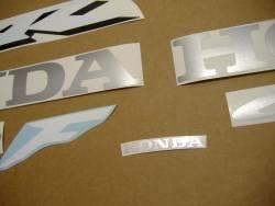 Honda 600 F4 2006 silver full decals kit