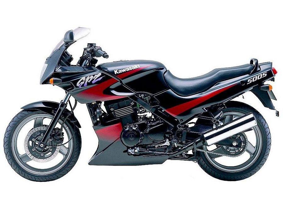 kawasaki gpz 500 s ninja 2001 2000 decals set black red. Black Bedroom Furniture Sets. Home Design Ideas