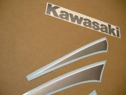 Kawasaki 250r 2007 Ninja red adhesives