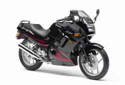 Kawasaki 250 R 2007 Ninja black logo graphics