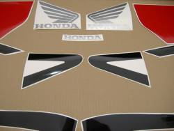 Honda CBR 954RR 2002 SC50 black decals kit