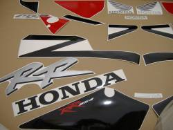 Honda CBR 954RR 2002 SC50 black stickers